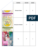 Lista Libros Sep 2014-2015