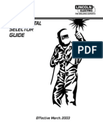 Weld Selector Guide