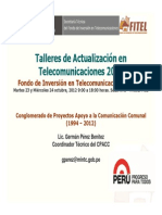Exposición Del CPACC G. Perez