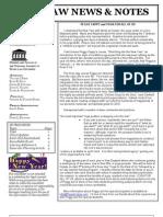 Elder Law News & Notes January 2010 Number 66