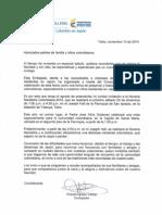 Invitacion Novena Navidena Colombiana 2014