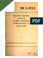 TM 5-3222 TRACTOR T-9