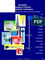Accepta Chemical Dosing and Control Equipment Catalogue