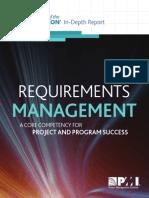 PMI Requirementspmi Management in Depth Report 1