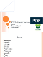 PTFE - Politetrafluoretileno