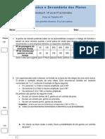 Ficha de Trabalho nº3 - probabilidades - matB