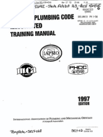 Uniform Plumbing Code Training Manual | Septic Tank