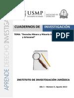 Derecho Minero y Mineria Informal Ilegal y Artesanal