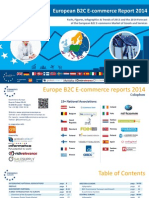 European b2c Ecommerce Report 2014