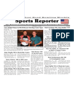 December 3 - 9, 2014 Sports Reporter