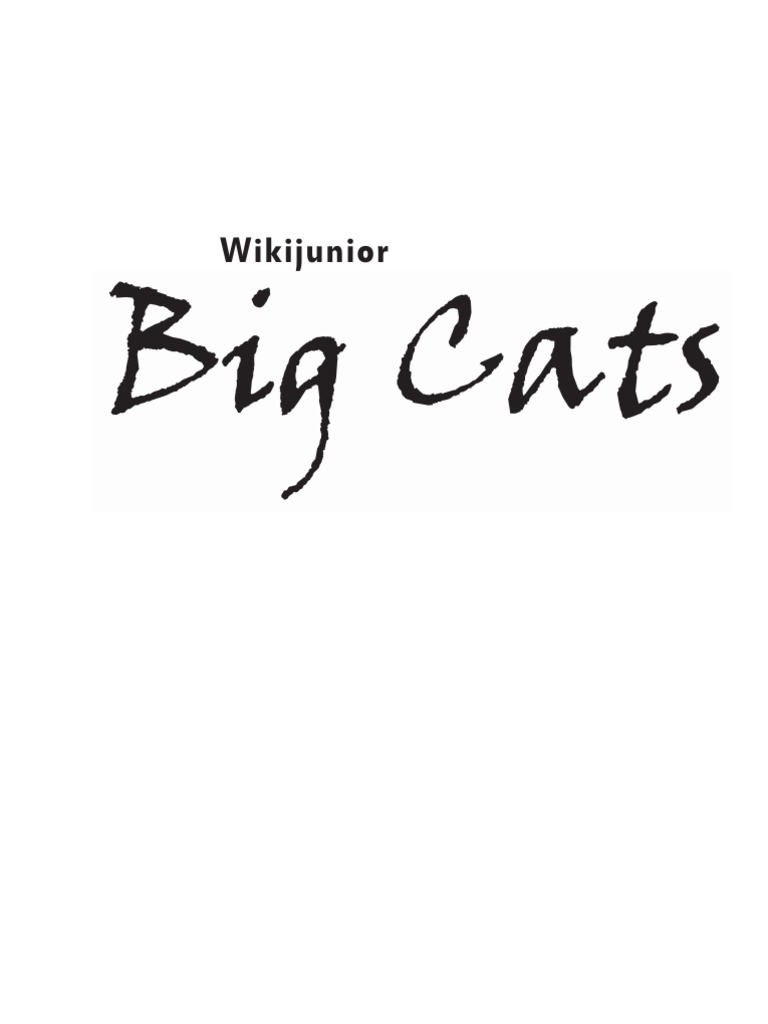 543229a9fa6e Wikijunior Big Cats