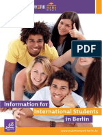 Infomation for International Students