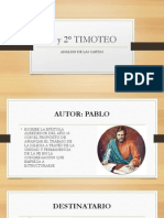 1° y 2° TIMOTEO