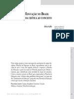 A História e a Filosofia Da Educação No Brasil.