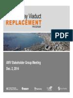 Alaskan Way Viaduct stakeholders' meeting presentation, December 2014