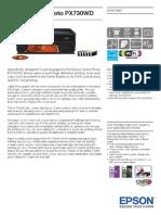 Epson Stylus Photo PX730WD Brochures 1