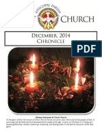 Christ Church Eureka December Chronicle 2014