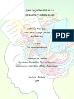 Ordenamiento y Clasificacion. Juan Calonge-Luis Argel-Nicolas Oviedo