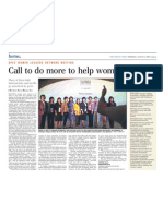 Call to Do More to Help Women Workers, 6 Aug 2009, Straits Times