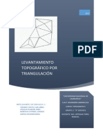 triagulacion topografica