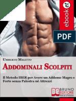 Umberto Miletto - Addominali Scolpiti