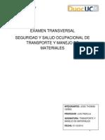 Examen Transversal Transporte