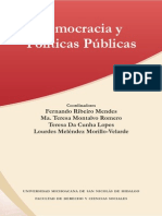 Libro Democracia y Politic as Public As