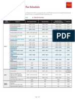 Debit Card Fee Schedule