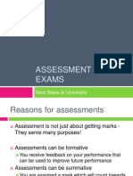 Assessment and Exam Lecture (1)