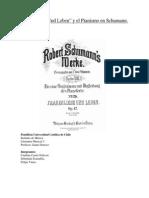 """Frauenliebe Und Leben"" y el Pianismo en Schumann."