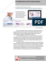 Using Sectra Pathology Viewer with the HP ElitePad 1000 G2 powered by Intel