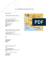 Montenegro Trip Planning