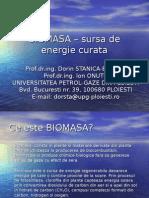 BIOMASA sursa de Energie