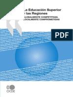 LA EDUCACION SUPERIOR Y LAS REGIONES-Globalmente Competitivas, Localmente Comprometidas