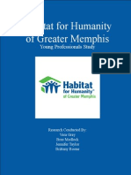 Habitat for Humanity Research Project