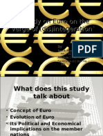 A study on Euro