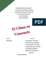 Climas de Venezuela
