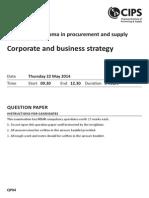 (6) CIPS PD2 Examination May 2014