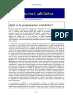 Programación Multihebra en Java