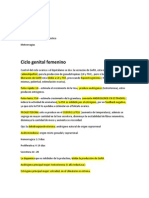 Repaso de Ginecologia. Tema 1