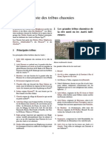 Liste Des Tribus Chaouies