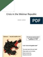 ppt - interwar weimar republic