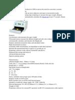 Spesifikasi Alat
