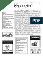 Veganzetta numero speciale Veganchio 2008