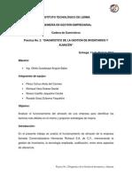 Práctica 2. Gestión de Inventarios y Almacén
