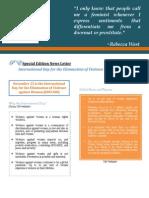 IDEVAW 2014 Newsletter