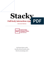 Stacky-Full-body interaction experience