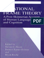 Hayes, Steven C. (Ed.) Et Al. - Relational Frame Theory