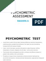 Psycho Metric Assessment- Character, Ability, Motivation- Rashmi