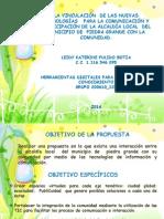 PROPUESTA PARA LA ALCALDÍA PIEDRA GRANDE